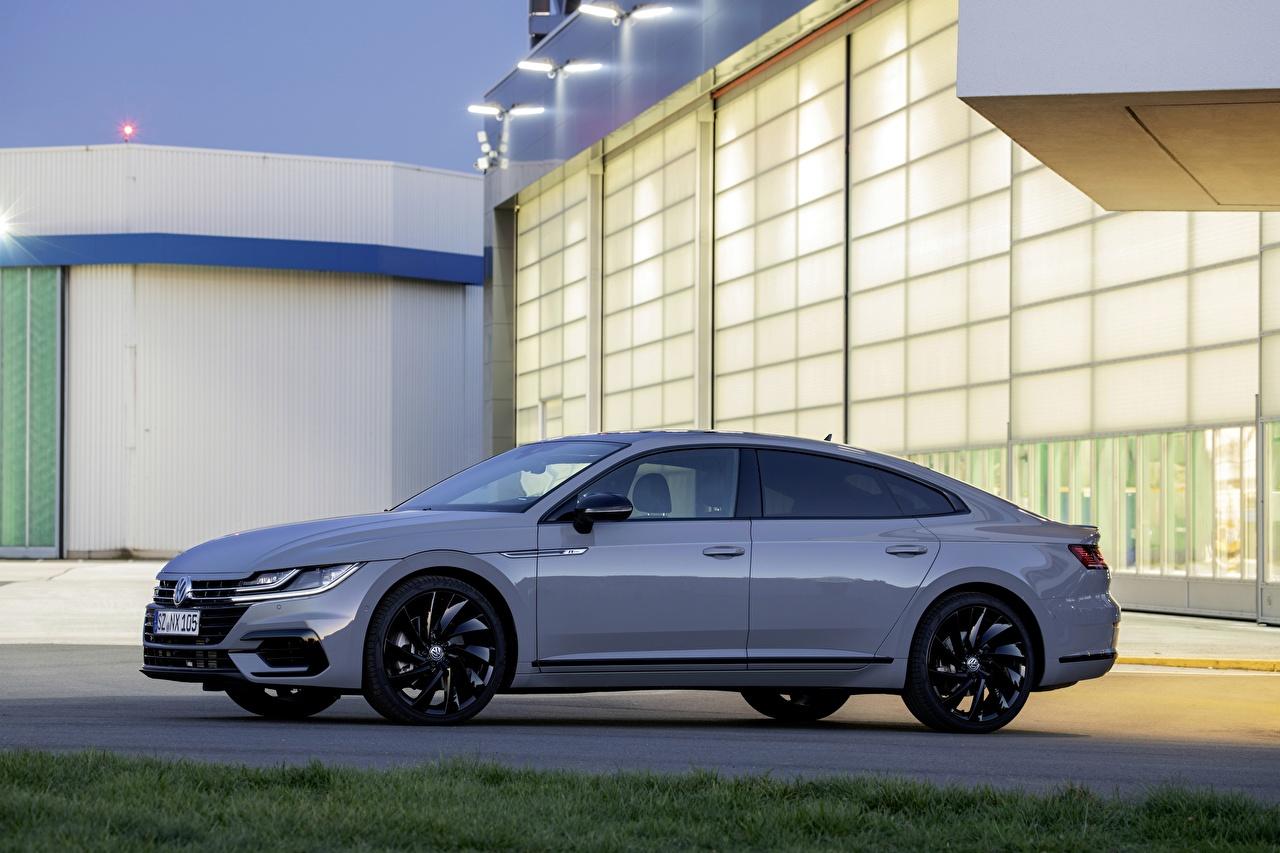 Pictures Volkswagen 2020, Arteon, 4Motion, R-Line Edition Side Cars Metallic auto automobile