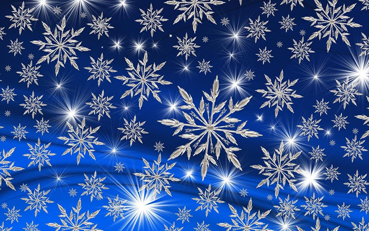 Bilder von Textur Neujahr Schneeflocken