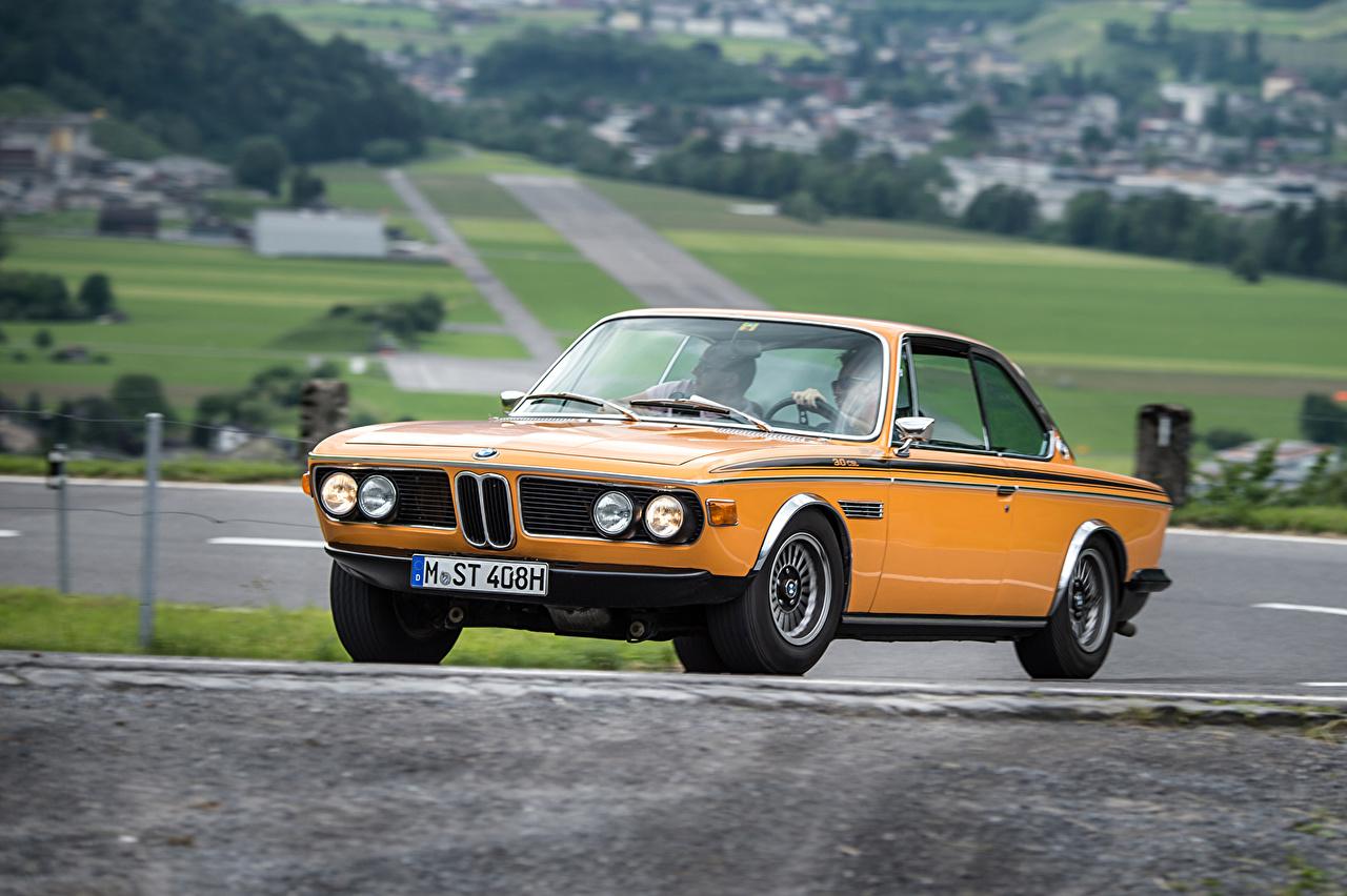 Immagine BMW 1971-73 3.0 CSL Worldwide Rétro Arancione automobile d'epoca vintage Auto macchine macchina autovettura