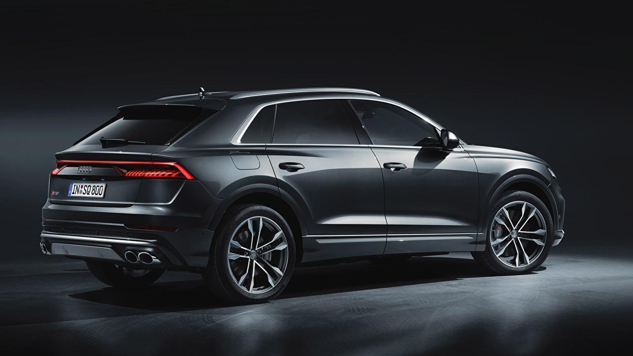 Picture Audi sq8 2020 Grey Cars gray auto automobile