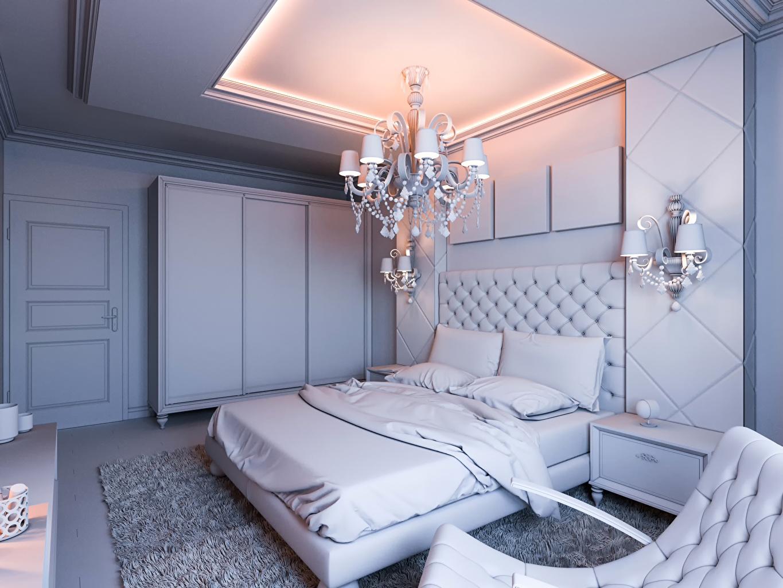Fotos Schlafzimmer Decke (Bauteil) Innenarchitektur Bett Lampe