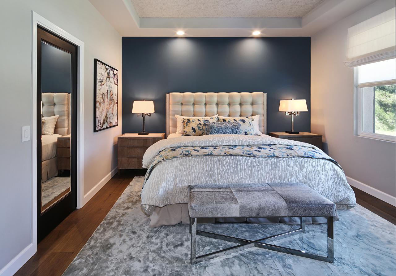 壁紙 インテリア デザイン 寝室 ベッド ランプ 映画