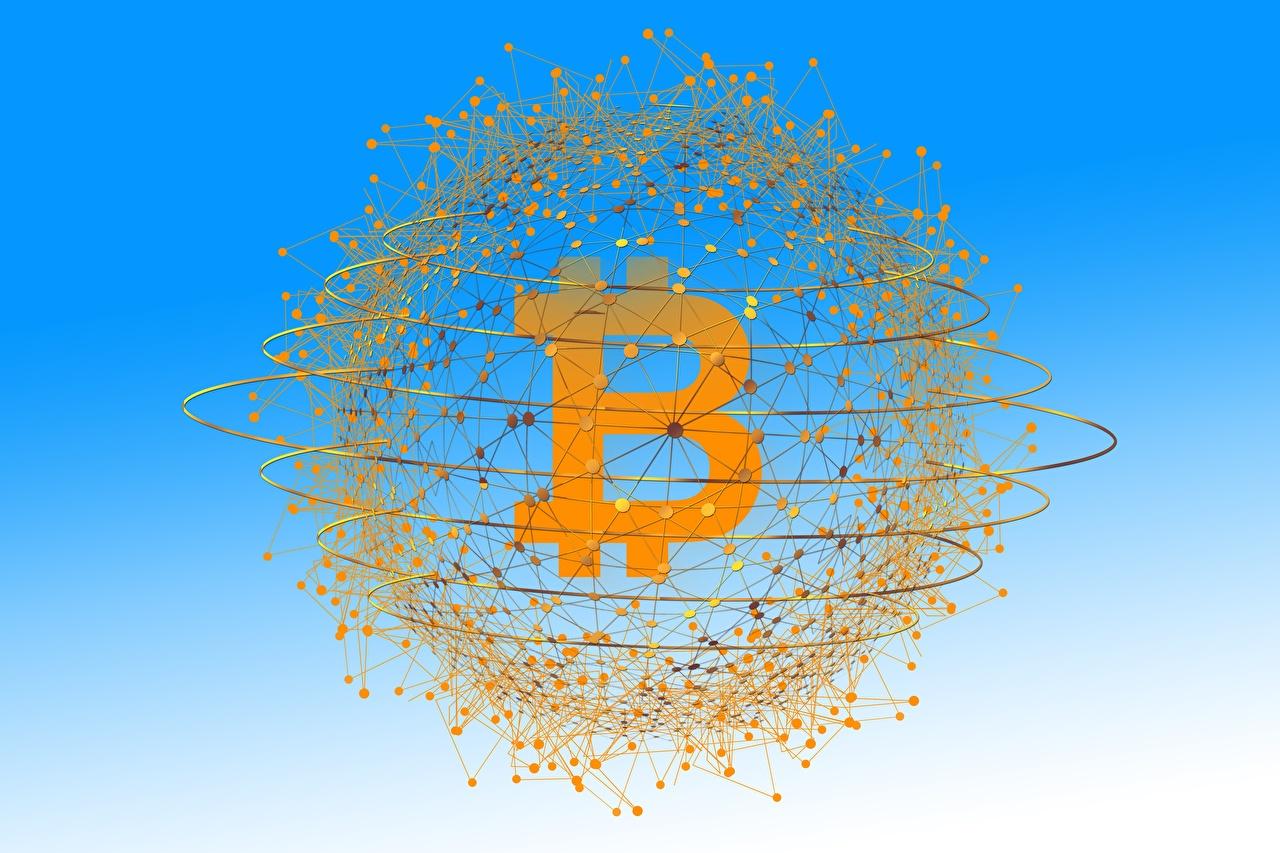 Photos Coins Bitcoin 3D Graphics Money