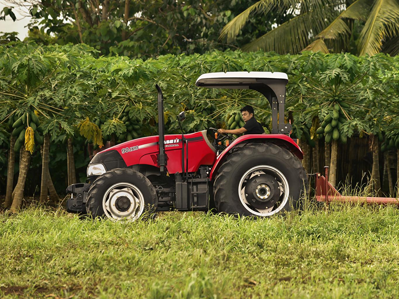 壁紙 農業機械 2015 19 Case Ih Farmall 90jxm トラクター 側面図