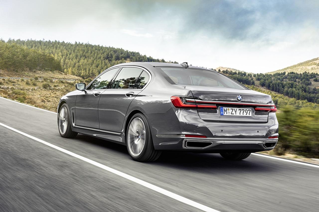 Bilder von BMW 7 Series G12 G11 facelift 750 Li Grau Autos Hinten graue graues auto automobil
