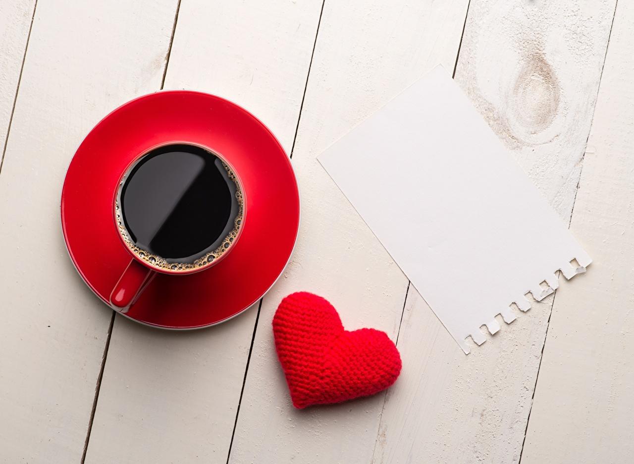Fotos Herz Kaffee Tasse Lebensmittel Vorlage Grußkarte Bretter das Essen