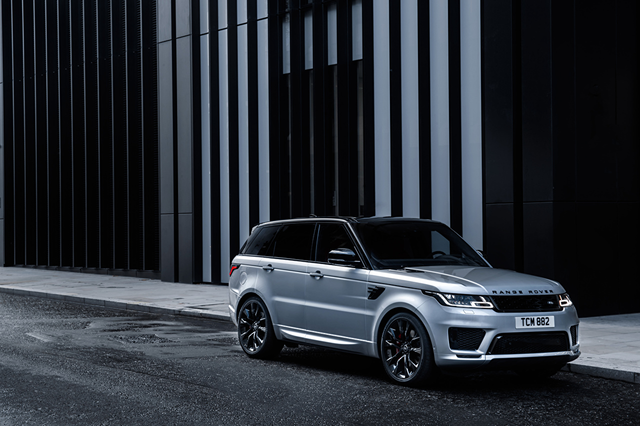 Images Land Rover CUV 2019 Sport HST Worldwide Silver color auto Range Rover Crossover Cars automobile