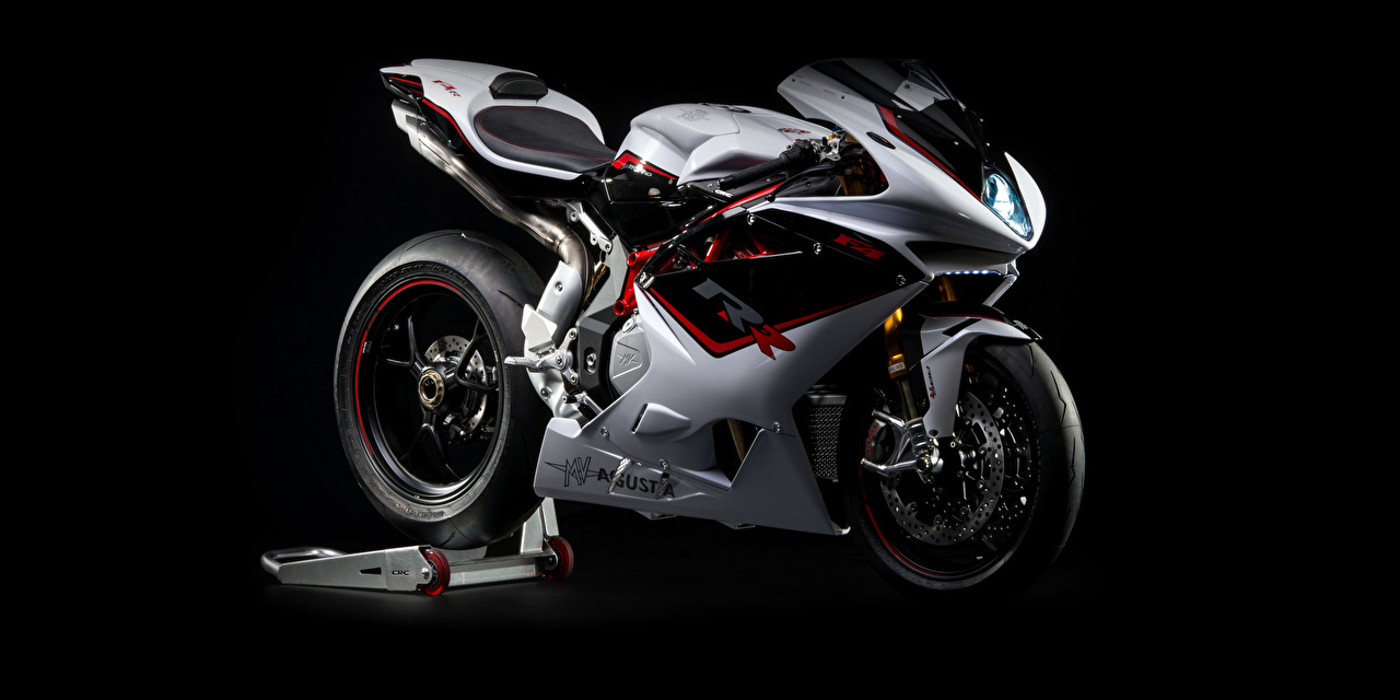Picture Tuning 2012-20 MV Agusta F4 RR Motorcycles Black background motorcycle