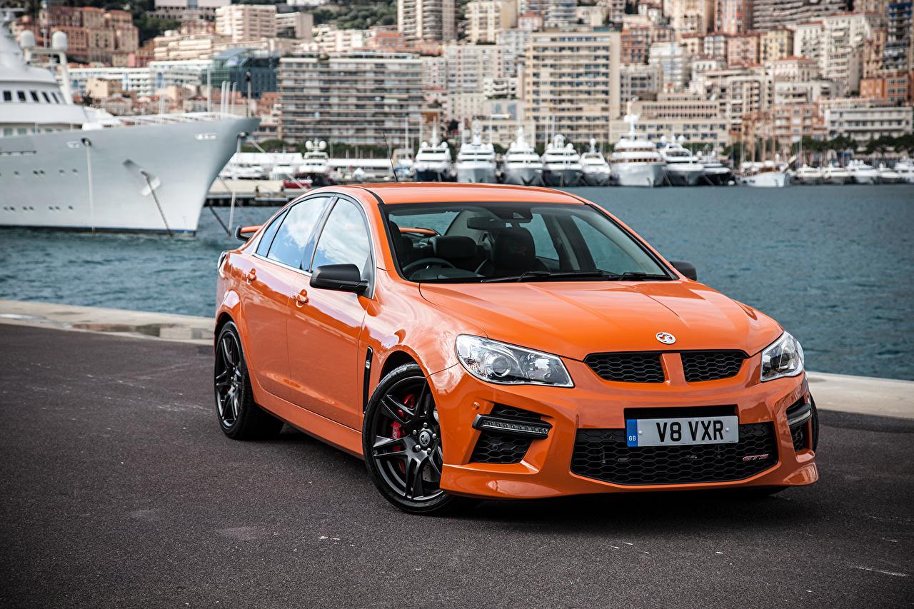 Picture Vauxhall 2014 VXR8 GTS Orange automobile Cars auto