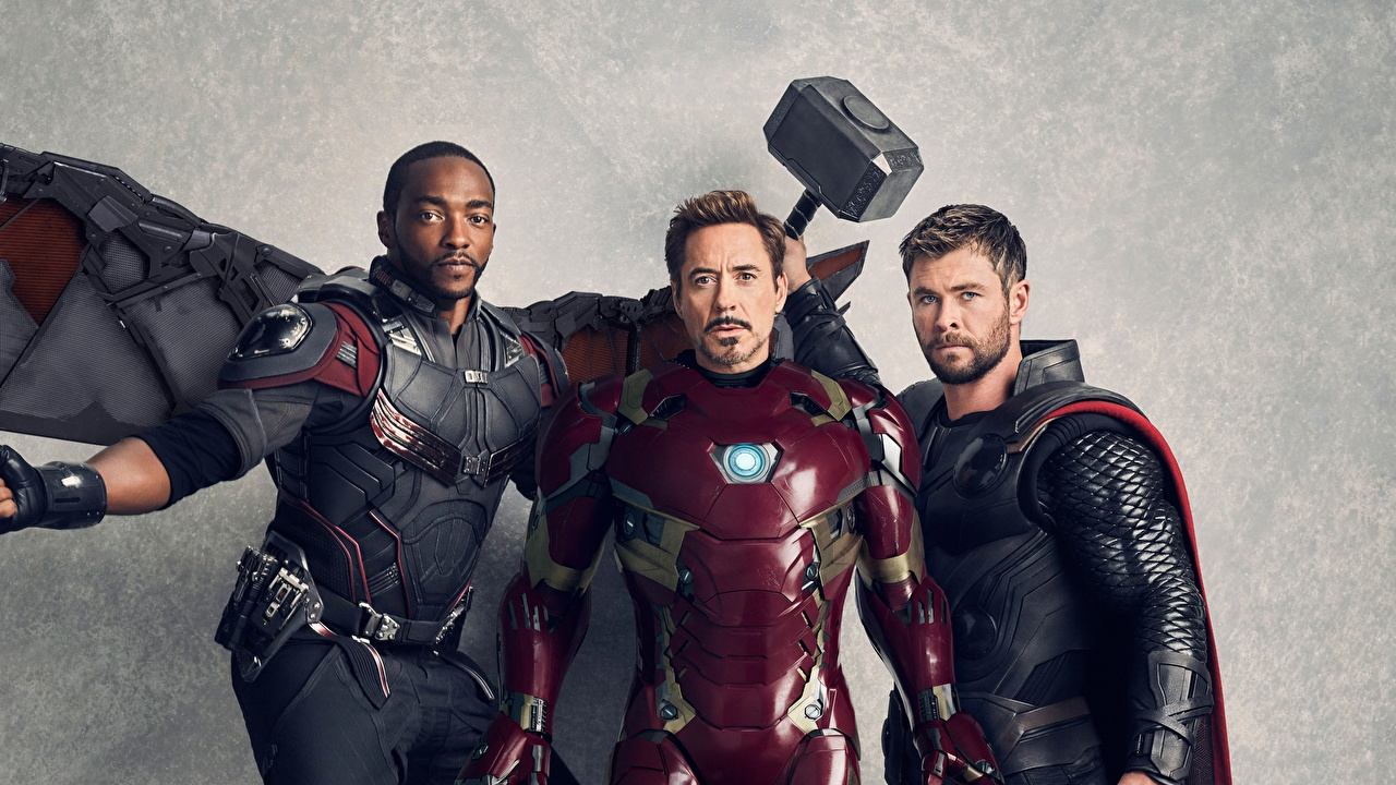 壁紙 Avengers Infinity War アイアンマン マイティ ソー