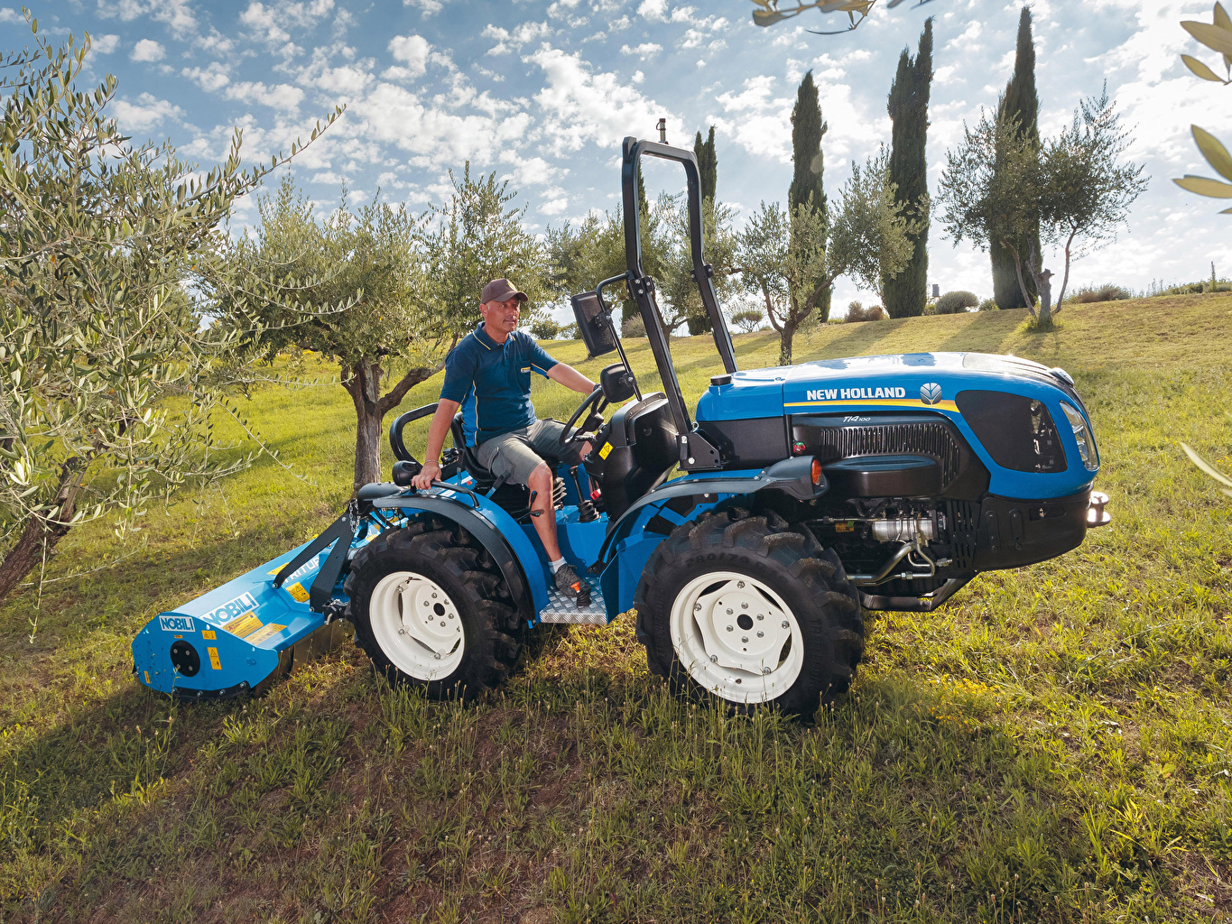 Images Agricultural machinery Man 2018-20 New Holland TI4.100 Men