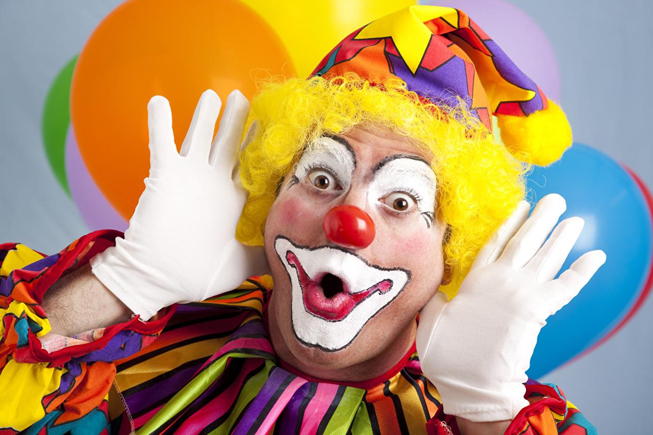 Hintergrundbilder Mann Make Up Handschuh Clown Hand Schminke