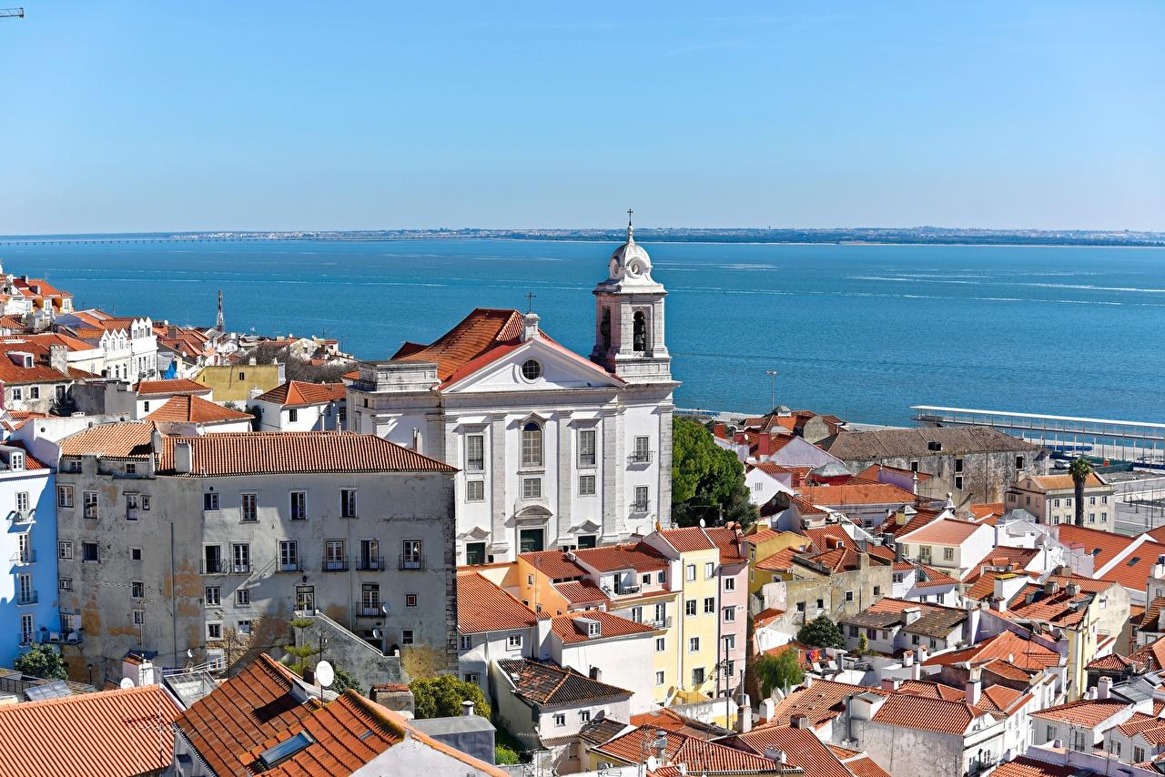 Portugal Lisboa Casa Mar da Paglia Ensenada Edificio Ciudades