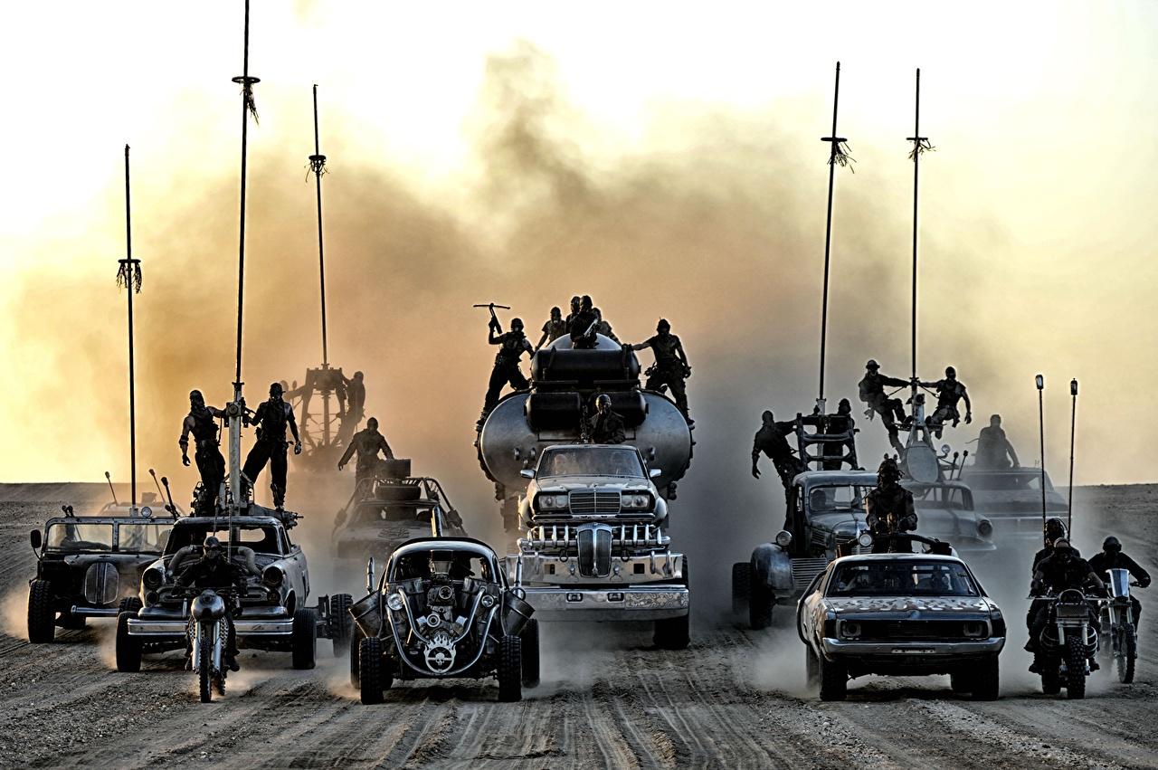 Pictures Mad Max: Fury Road Trucks Men Movies lorry Man film