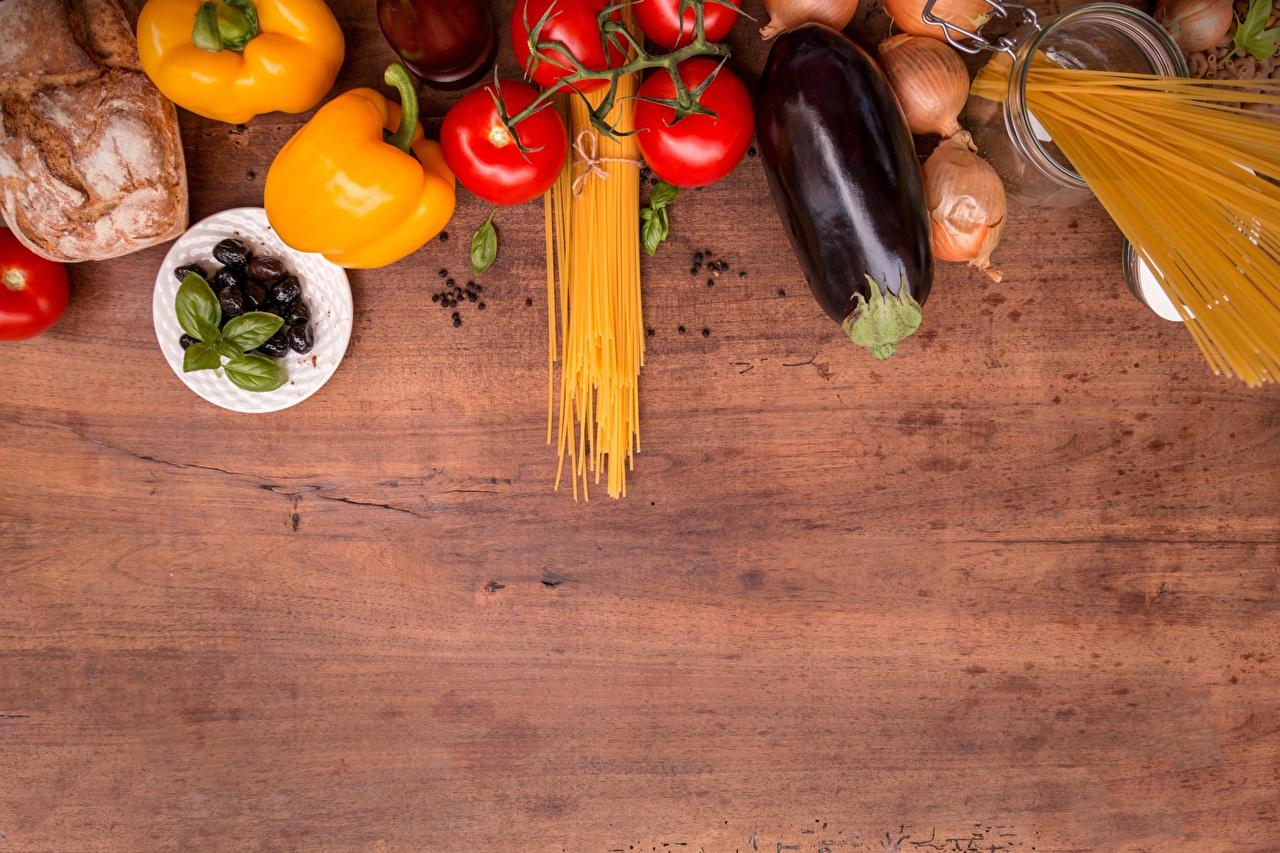 Immagini cipolle Pomodori Melanzana Maccheroni Cibo Peperone Cipolla alimento