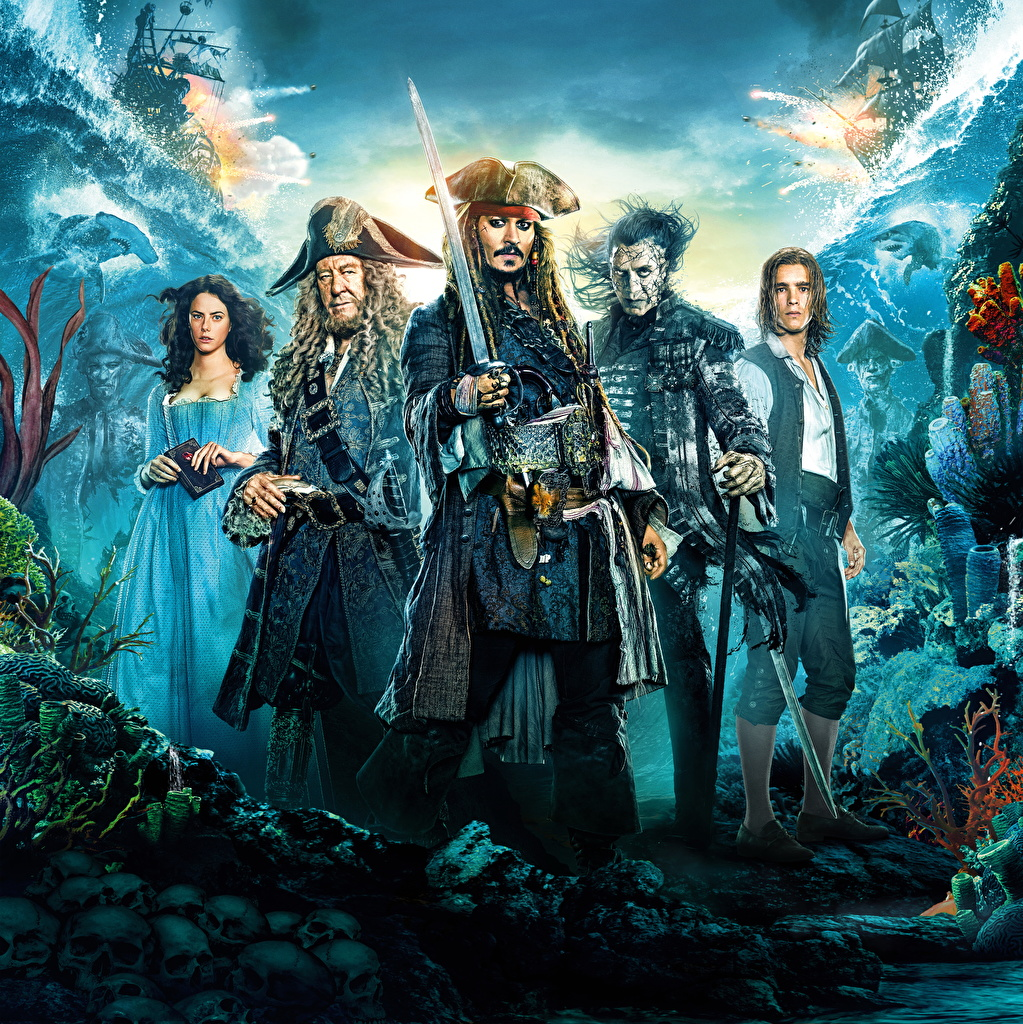 Photos Pirates Of The Caribbean Dead Men Tell No Tales Johnny Depp
