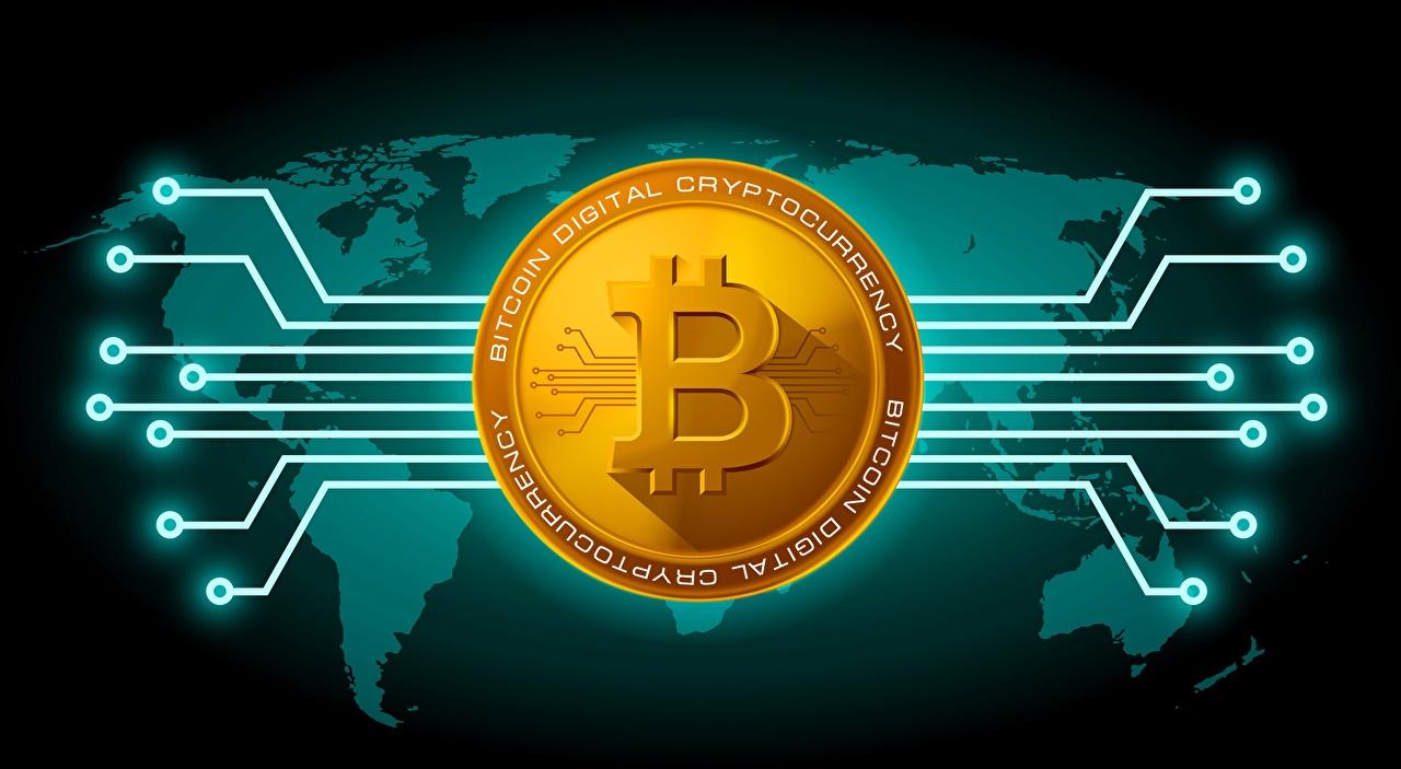 Bilder Münze Bitcoin
