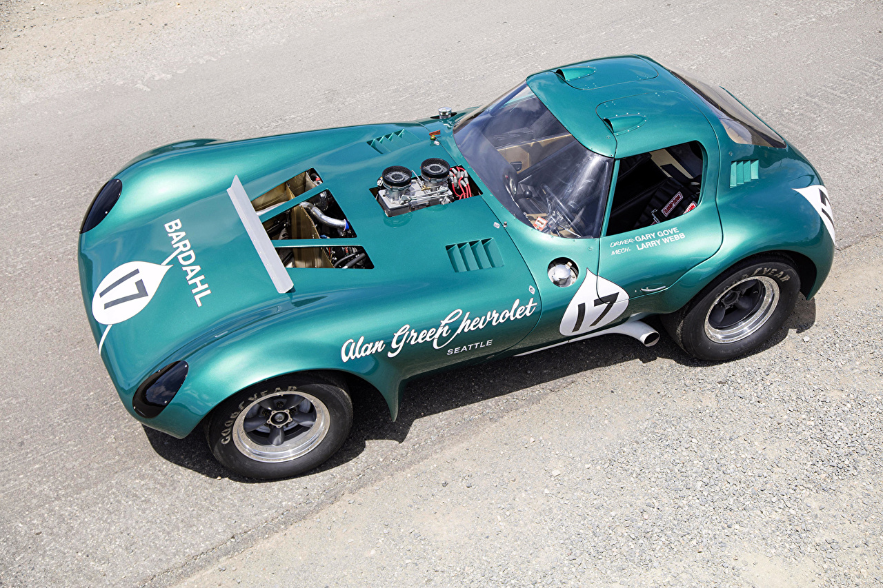 Photos Tuning Chevrolet 1963-65 Cheetah Coupe Retro Cars Metallic vintage antique auto automobile