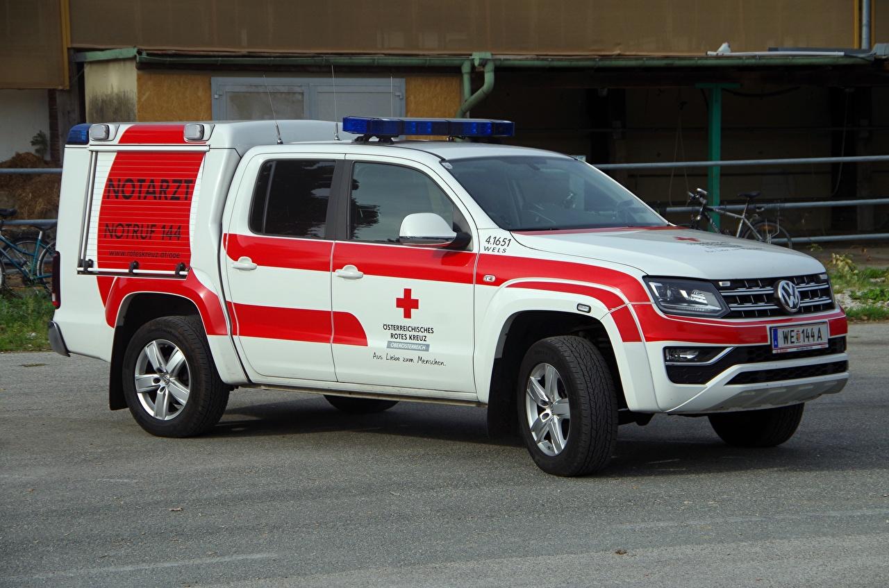 Wallpaper ER - Movies Volkswagen Amarok, 2011, Ambulance Cars auto automobile