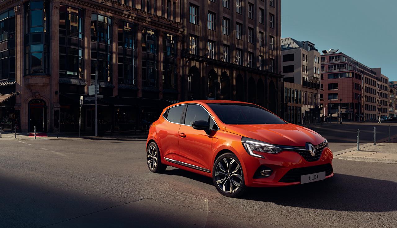 Fotos von Renault 2019 Clio Worldwide Orange Autos Metallisch