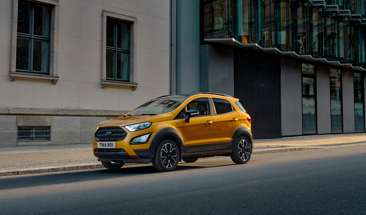 Image Ford Crossover EcoSport Active, 2020 Cars Metallic CUV auto automobile