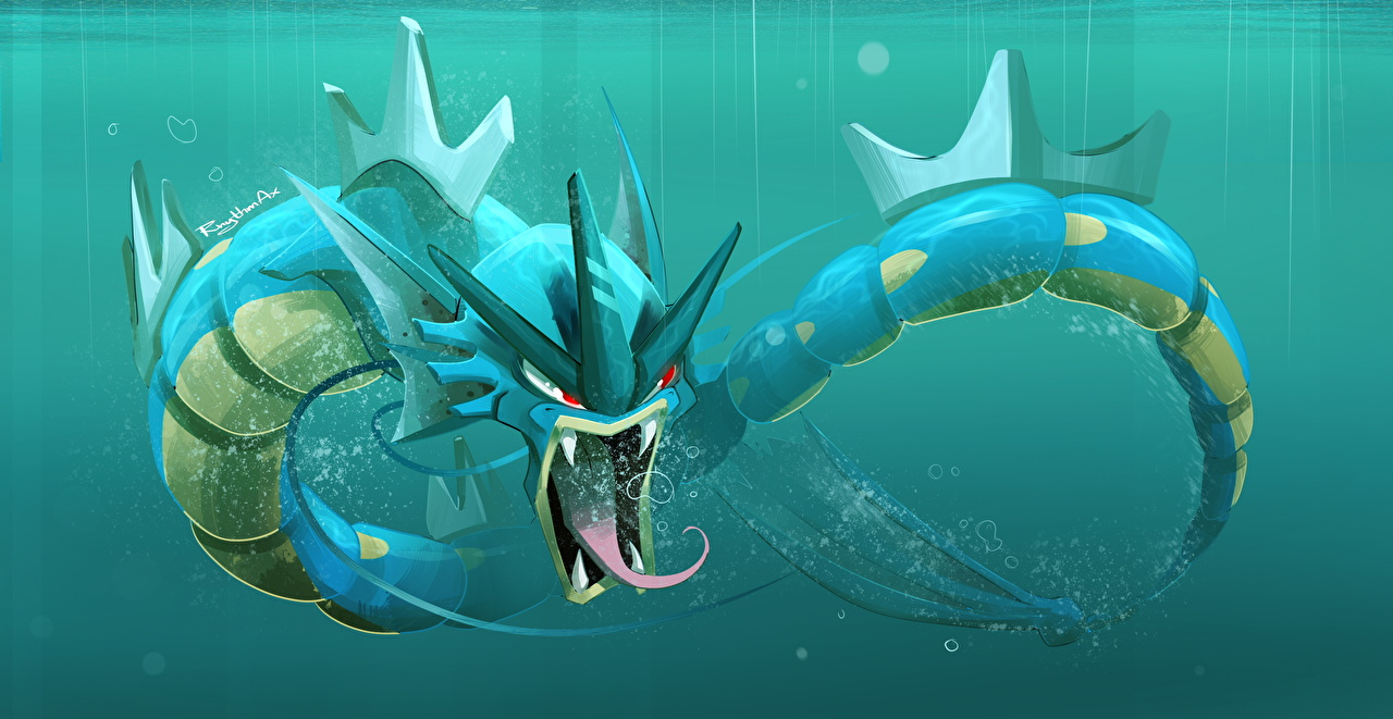 Fonds D Ecran Monsters Monde Sous Marin Pokemon Games