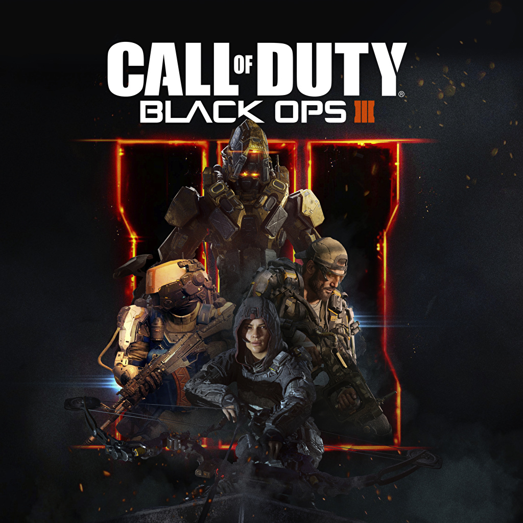 Photos Call Of Duty Soldier Assault Rifle Black Ops Iii Vdeo Game