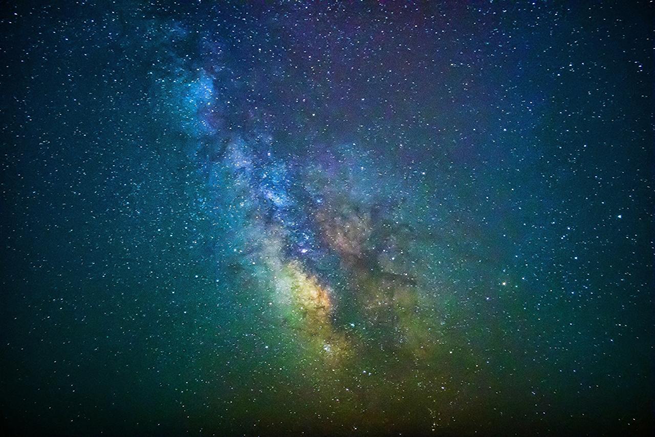 Desktop Wallpapers Stars Milky Way Space