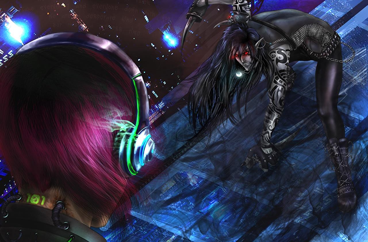 Batalha Guerreiro Fones de ouvido guerreiros, Auscultadores Fantasia