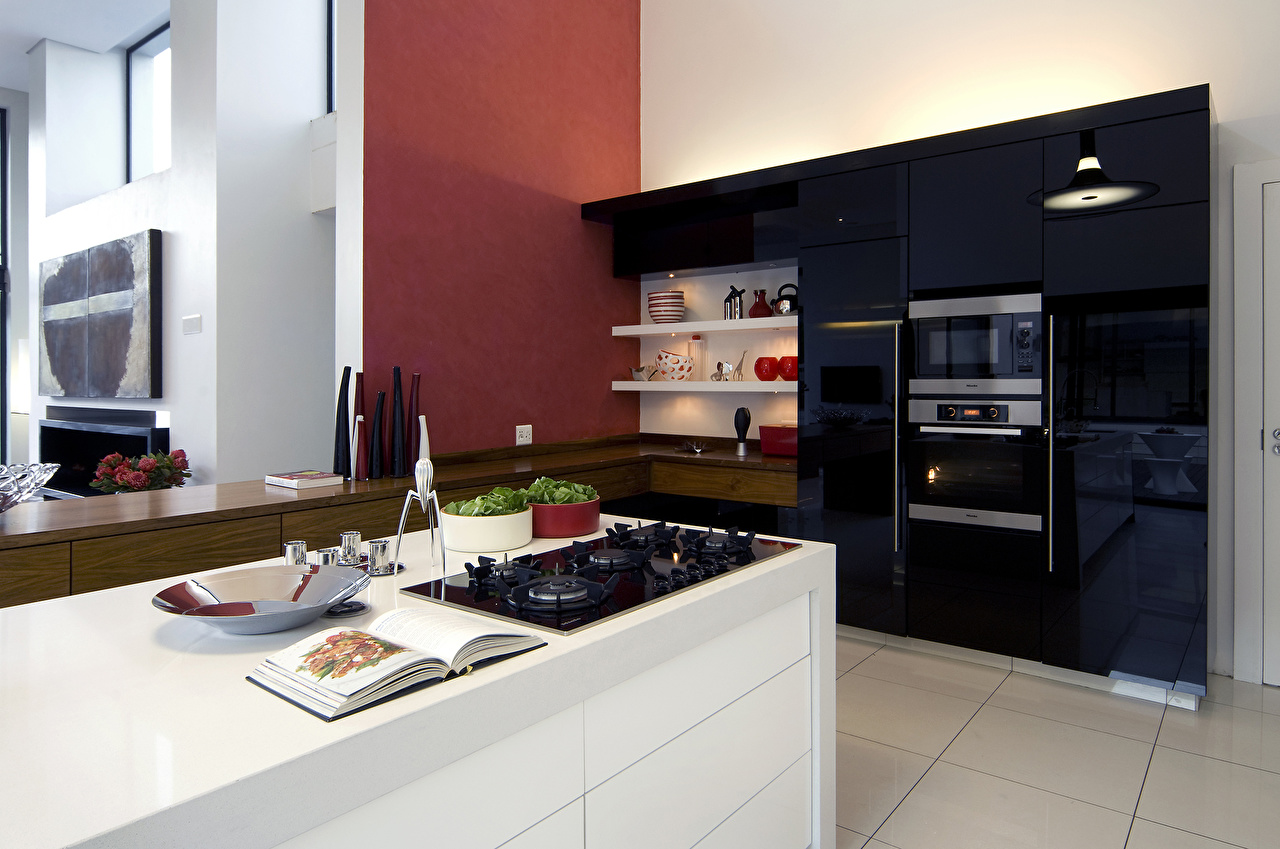 Image Kitchen High-tech style Interior Table