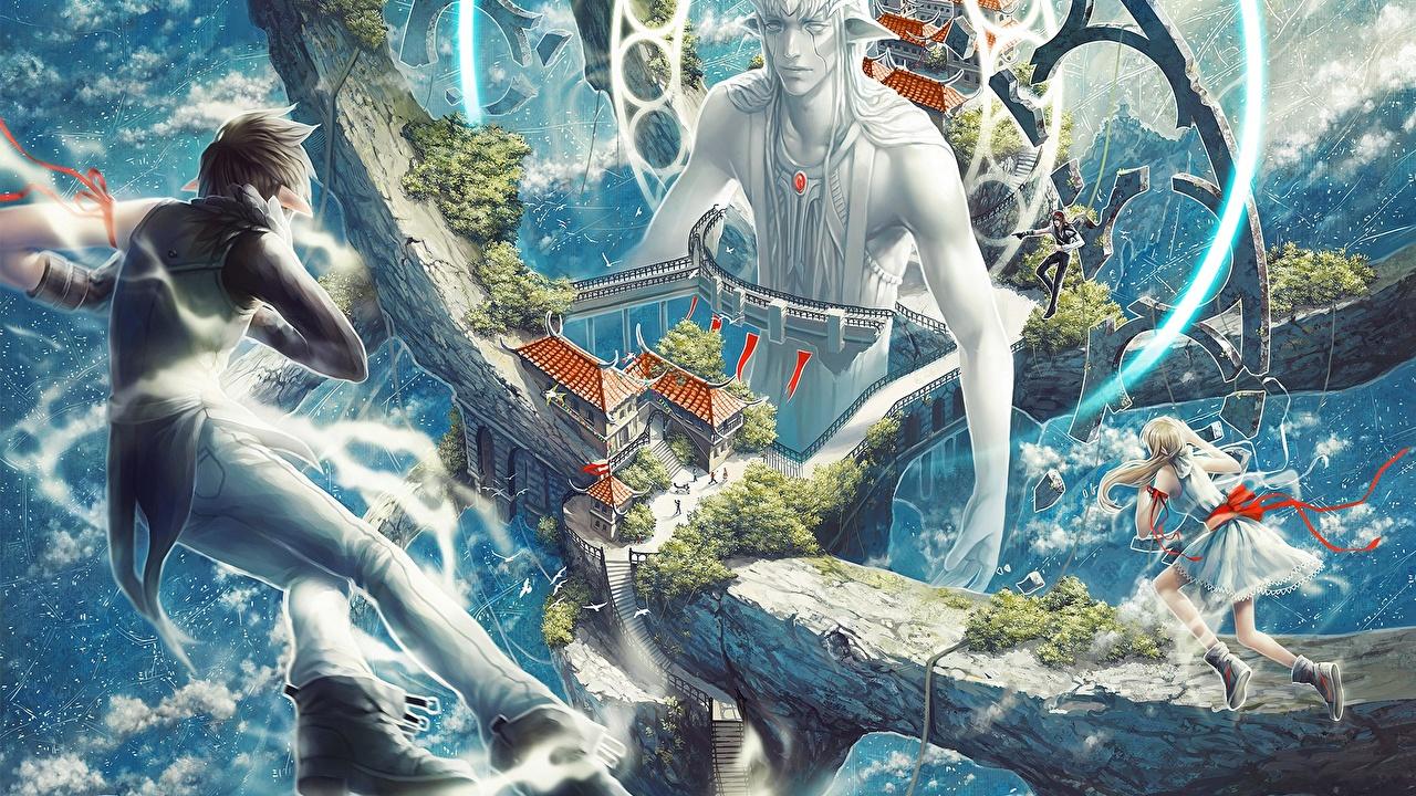 壁紙 幻想的な世界 魔術 エルフ Valentina Remenar Tincek