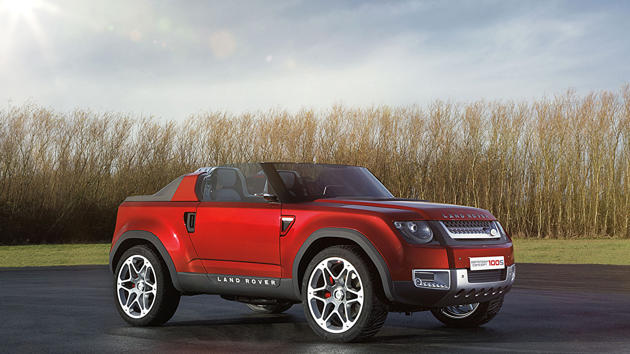 Image Range Rover Sport Convertible Red Side automobile Land Rover Cabriolet Cars auto