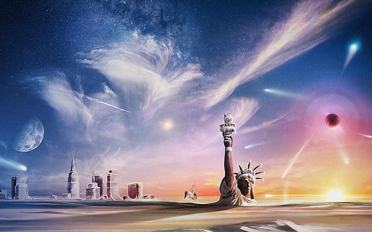 Ilustraciones para libros Apocalipsis Planetas planeta, El Fin de los Tiempos Fantasía