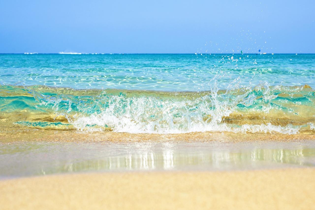 Foto Meer Natur Spritzer Wasserwelle Wasser