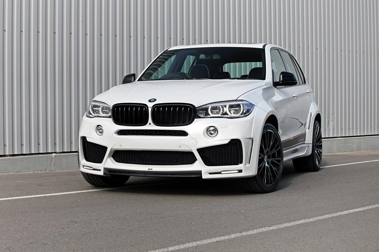 Images BMW F15 Lumma Design White Cars Front auto automobile