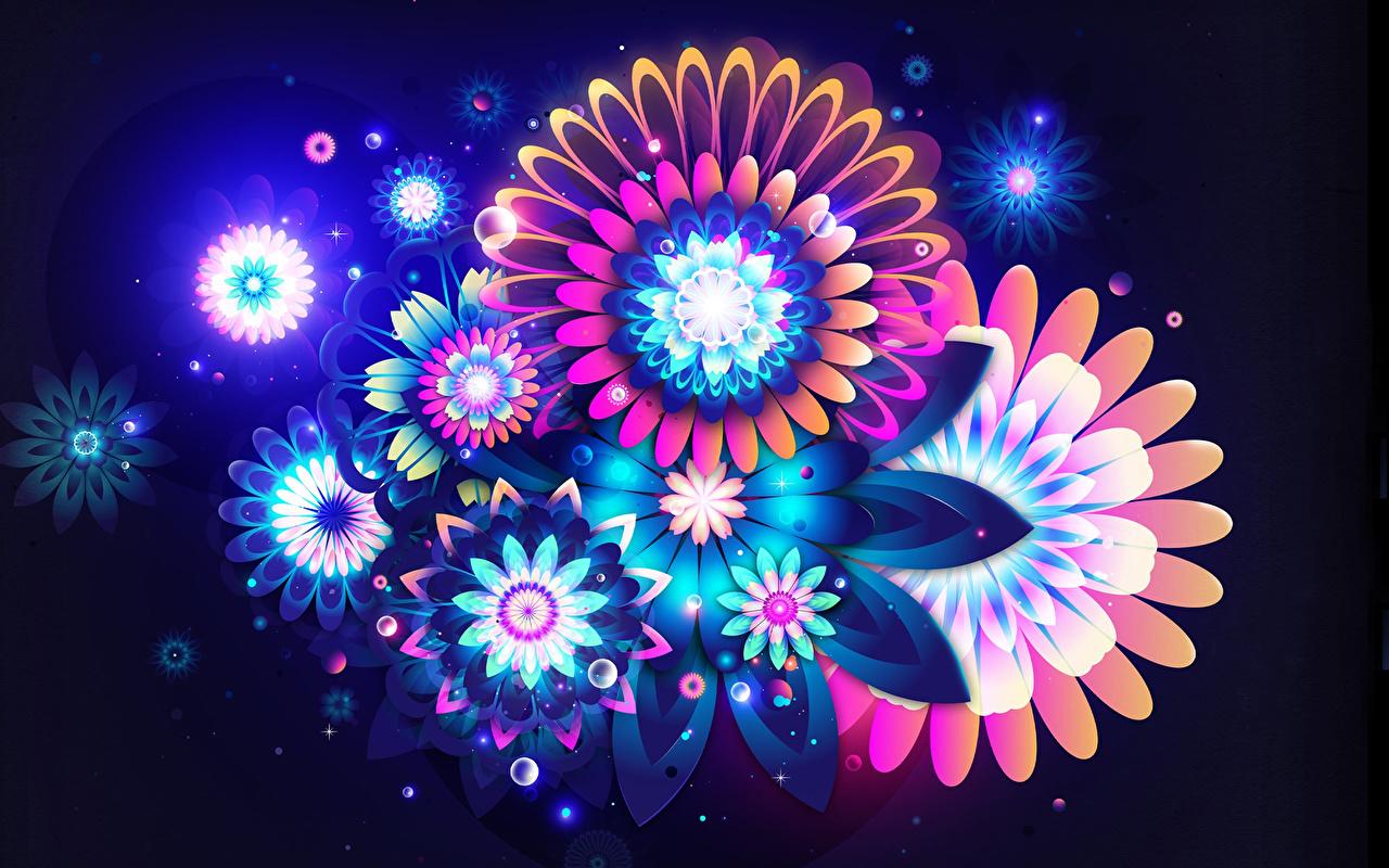 Fondos De Pantalla 3d Gr U00e1ficos Flores Descargar Imagenes