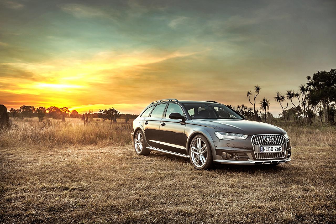 Fondos De Pantalla Audi Amaneceres Y Atardeceres 2015 A6