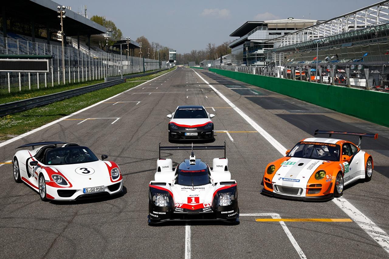 Fotos von Porsche Fahrzeugtuning Sport automobil Tuning auto Autos