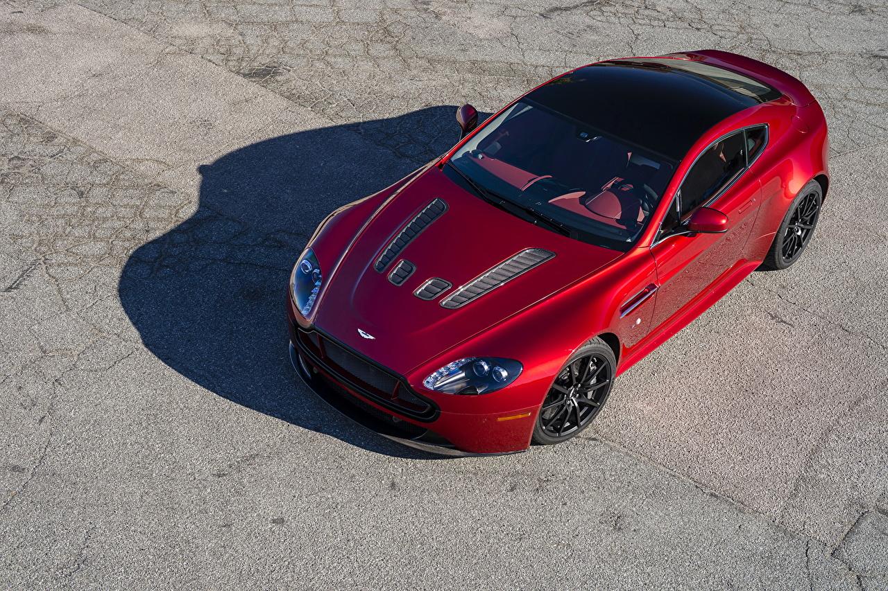 Wallpaper Aston Martin 2013 V12 Vantage S Red automobile Cars auto