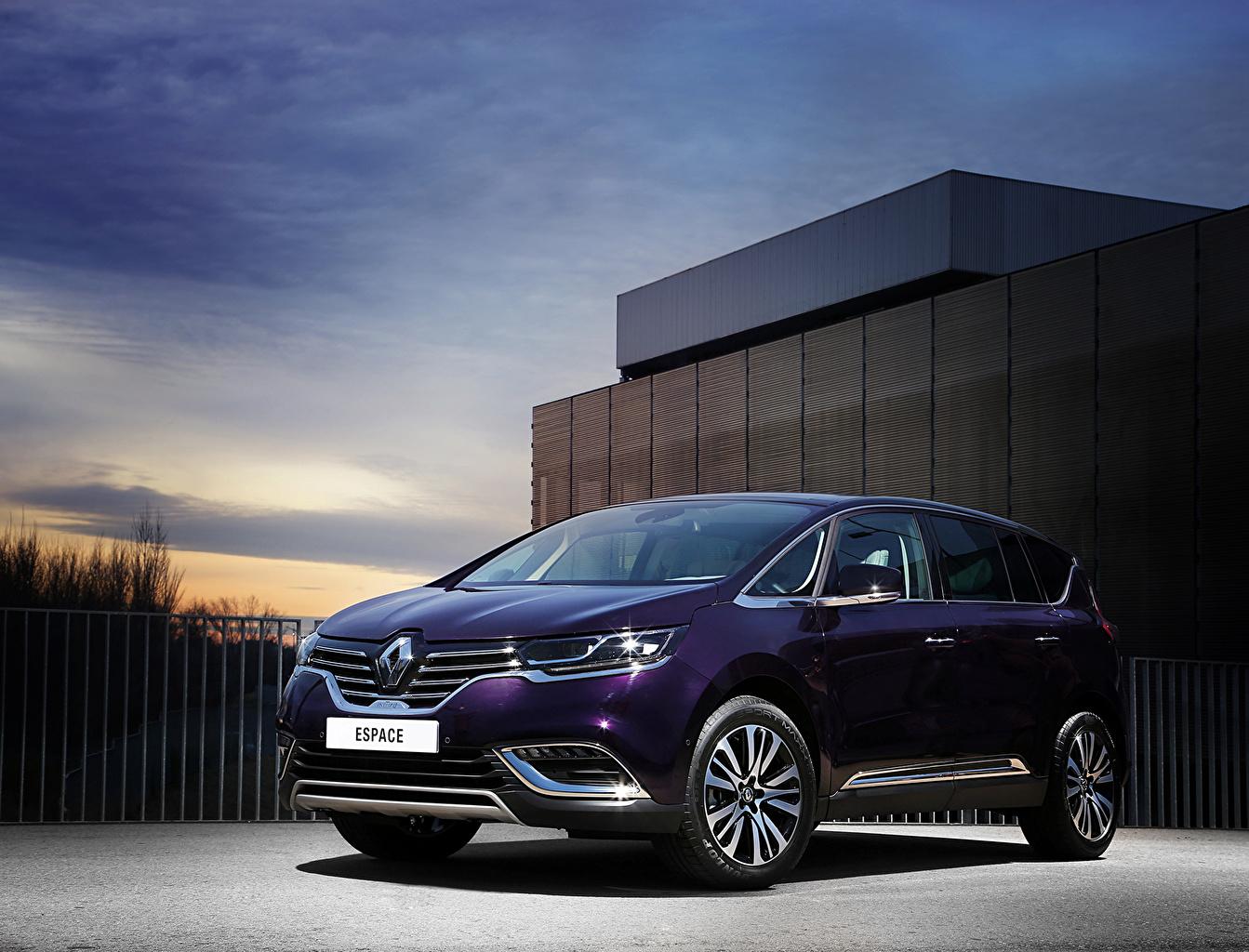 Image Renault 2015 Espace Initiale Paris Violet Metallic automobile Cars auto