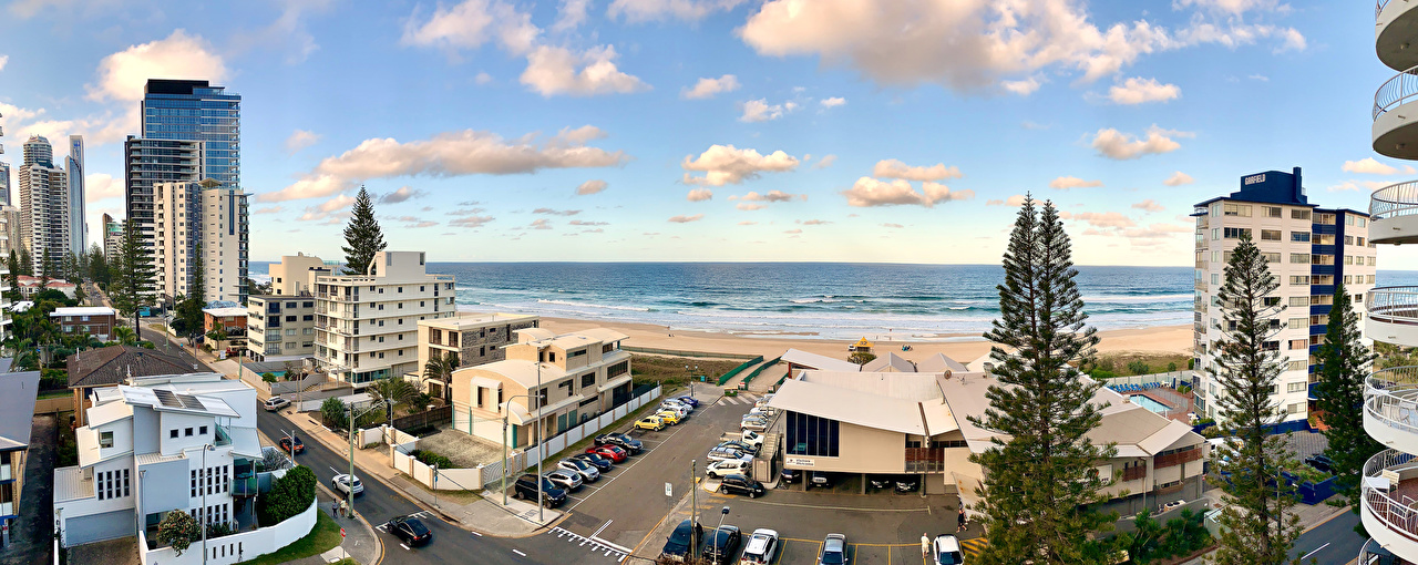 Picture Australia Queensland Street Coast Cities Building Houses