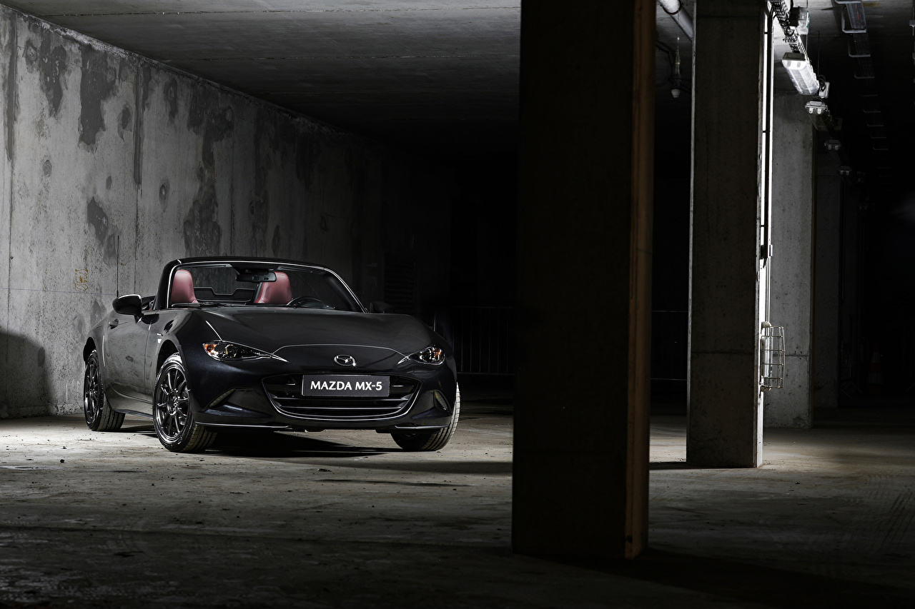 Wallpaper Mazda 2020 MX-5 Eunos Edition Convertible Grey auto Cabriolet gray Cars automobile