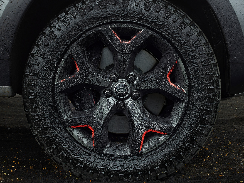 Bilder Land Rover Discovery 4x4 2017 V8 SVX 525 Rad Autos Schlamm Großansicht Räder auto automobil hautnah Nahaufnahme