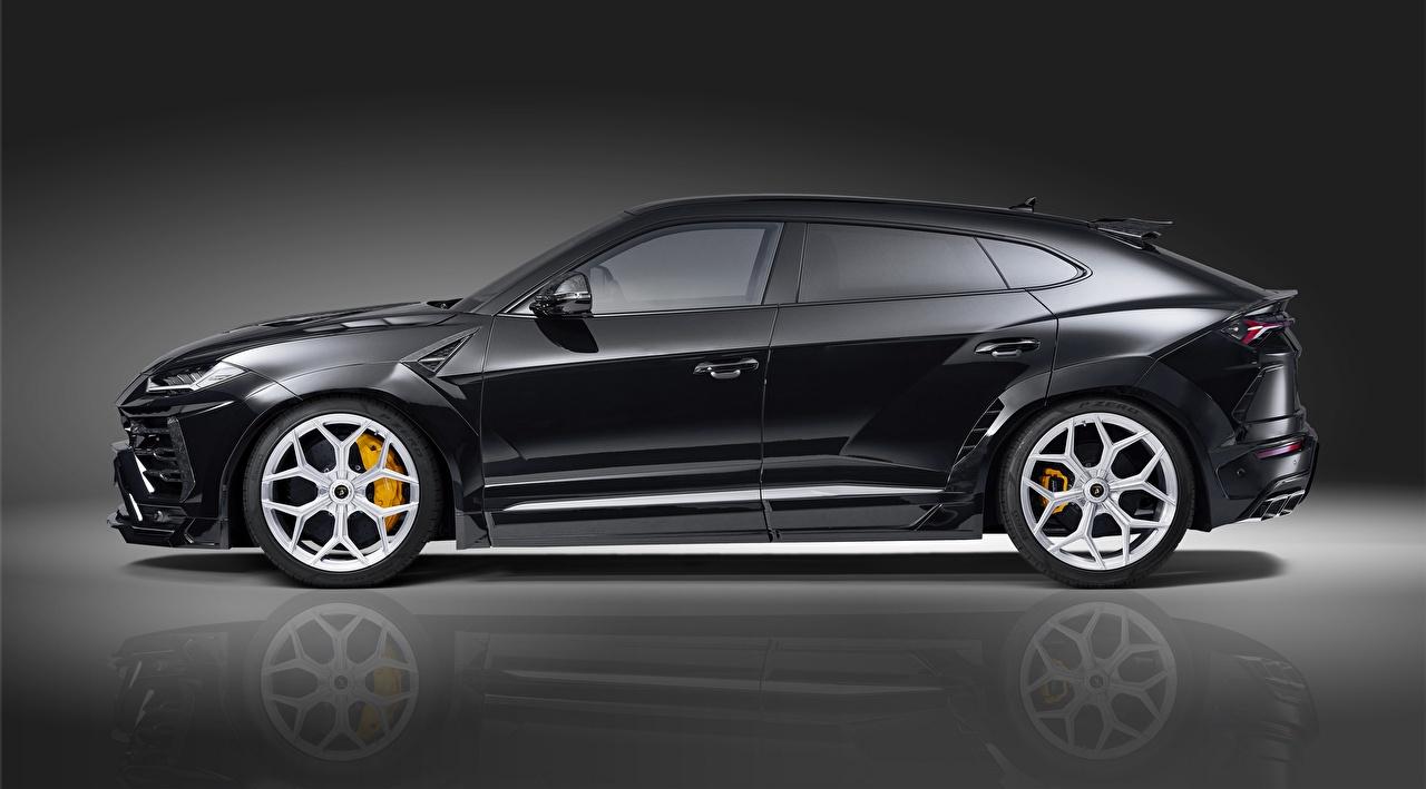 Desktop Wallpapers Lamborghini Crossover Urus Novitec 2019 Side auto CUV Cars automobile