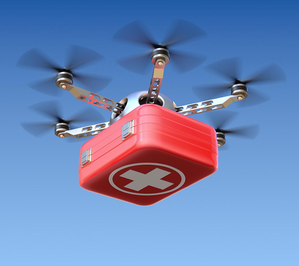 Bilder UAV hexacopter Koffer Flug Luftfahrt