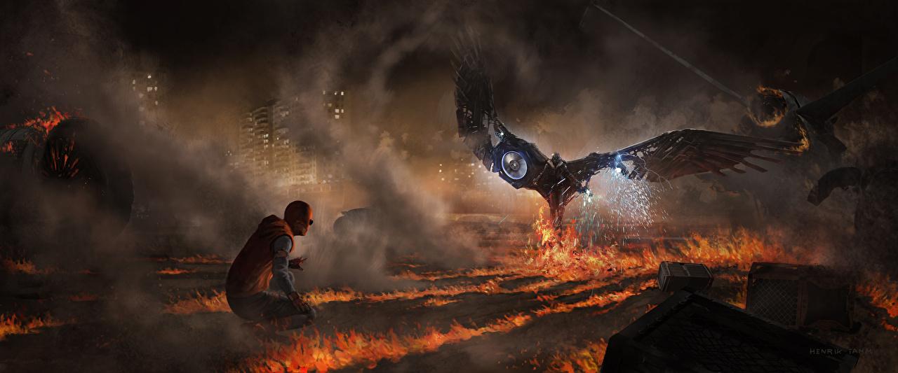 Tapeta Spider-Man: Homecoming superbohaterów Spider-Man superbohater Vulture dwóch Filmy Ogień Bohaterowie komiksów dwie Dwa 2 dwoje film płomień