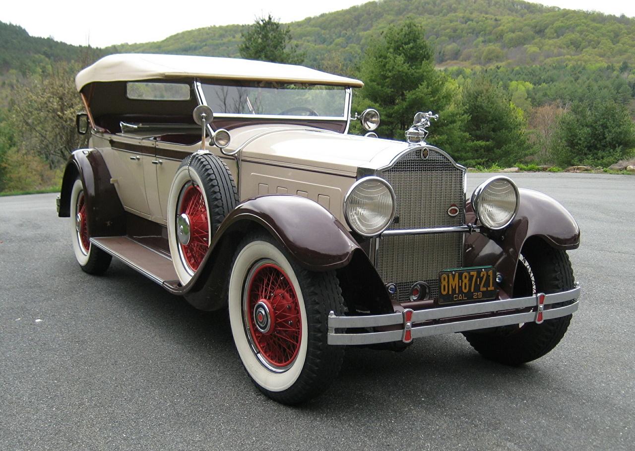 Photos 1929 Packard 6-40 antique auto Headlights Retro vintage Cars automobile