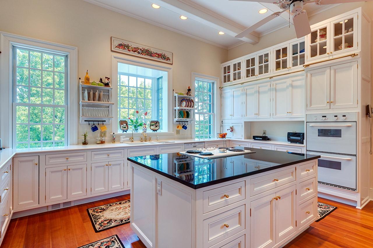 Fondos de Pantalla Diseño interior Mesa Cocina Ventana Diseño ...