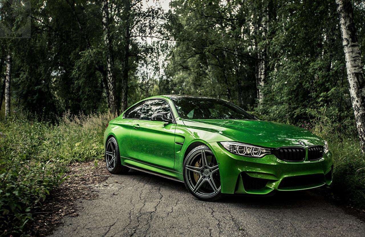 Images BMW f82 Green Cars Metallic auto automobile