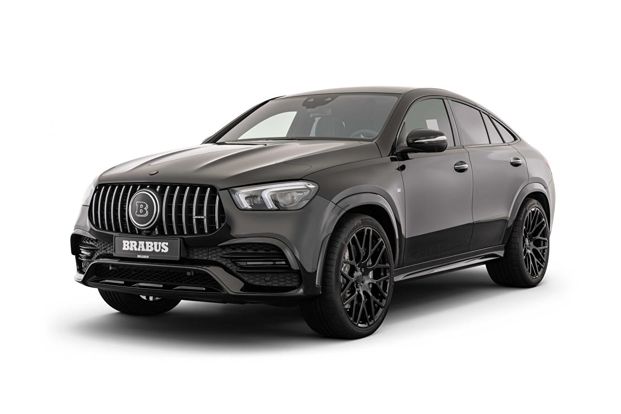 Bilder von Brabus 500 (C167), 2020 Schwarz automobil Metallisch Weißer hintergrund auto Autos